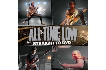 All Time Low – Straight To DVD BRAND NEW SEALED MUSIC ALBUM CD - AU STOCK