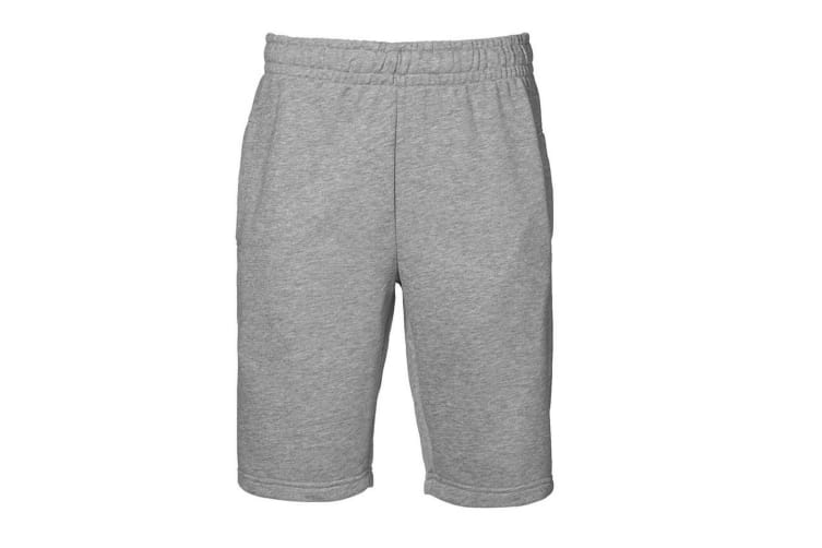 ID Mens Sporty Regular Fitting Sweatshorts (Grey melange) (3XL)