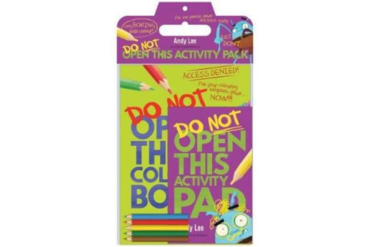 Do Not Open This Activity Pack