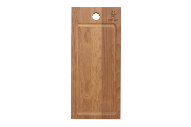 STANLEY ROGERS 56199 THERMO BEECH RECTANGULAR BOARD 450x200x20 DURABLE BEECHWOOD BOARD
