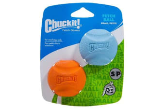 Chuckit Fetch Ball Small 2 Pack