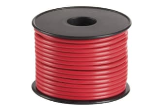 Red 15 Amp DC Power Cable Flexible DC power cable suitable for general purpose automotive