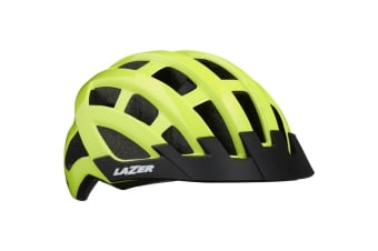 Lazer COMPACT Bike Bicycle Cycling Adult Helmet Yellow Unisize