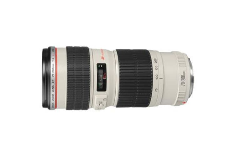 New Canon EF 70-200mm f/4 F4.0 L USM Lens (FREE DELIVERY + 1 YEAR AU WARRANTY)