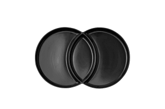 Ladelle Loop Platter Charcoal