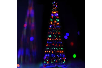 Jingle Jollys 3.6M LED Christmas Tree Lights Xmas Fibre Optic Decor Multi Colour