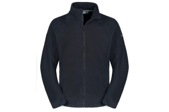 Craghoppers Mens Expert Basecamp Microfleece Full Zip Jacket (Black)