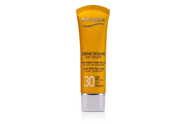 Biotherm Creme Solaire Dry Touch UVA/UVB Matte Effect Face Cream 50ml