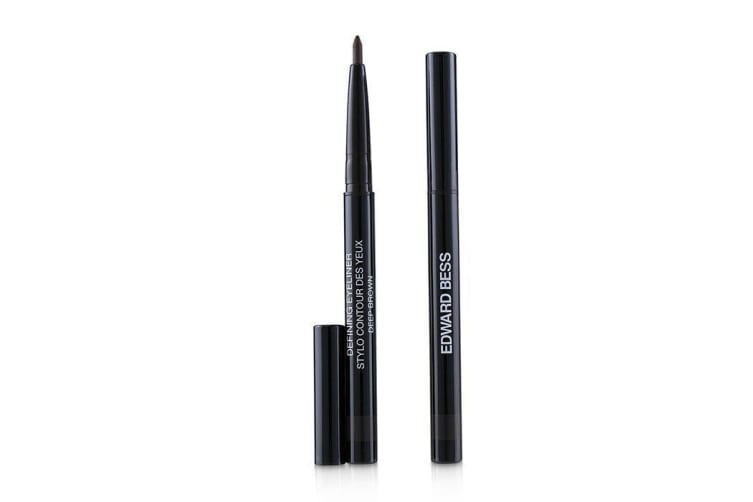 Edward Bess Defining Eyeliner With 1 Refill - # 02 Deep Brown 0.4g/0.014oz