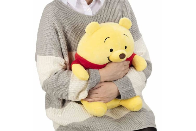Mocchi Mocchi Plush Winnie The Pooh Figure/Stuffed/Soft/Teddy/Doll Toy for Kids