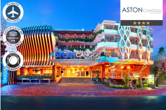 BALI: 7 Nights at Aston Canggu Beach Resort Including Flights for Two