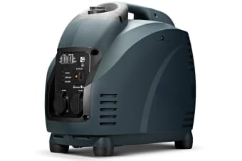 GenTrax Inverter Generator - 3.5KW Max, 3.0KW Rated, 100% Pure Sine Wave, Petrol, Portable for Camping Home