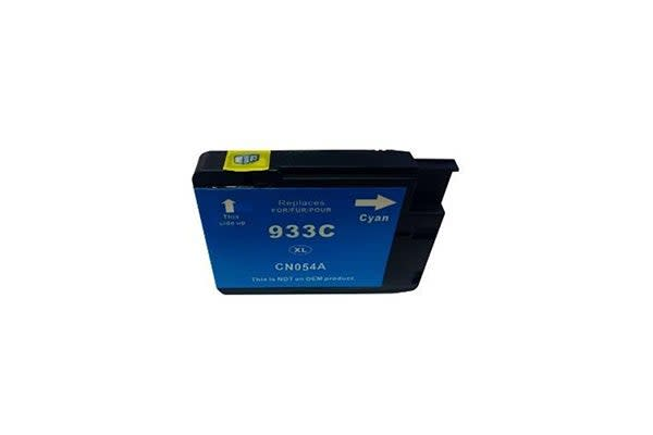 933XL Cyan Compatible Cartridge with Chip