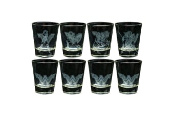 Wonder Woman Movie Frosted Designs Shot Glass Set
