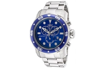 Invicta Pro Diver Chronograph Blue Dial Stainless Steel Men's Watch 15082 (15082)