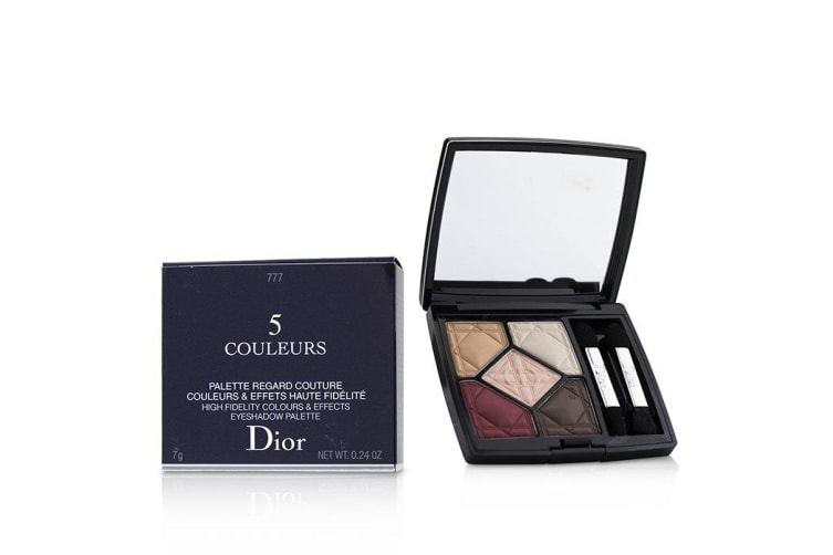 Christian Dior 5 Couleurs High Fidelity Colors & Effects Eyeshadow Palette - # 777 Exalt Matte 7g