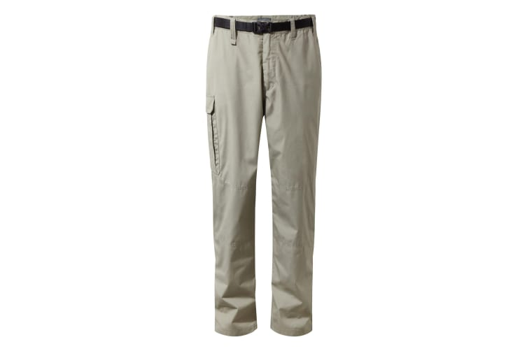 Craghoppers Outdoor Classic Mens Kiwi Stain Resistant Trousers (Rubble) (34L)