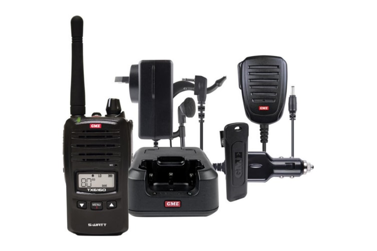 5W UHF CB Handheld Gme With Accessories Pack