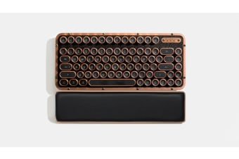 Azio RETRO CLASSIC COMPACT Vintage Typewriter Bluetooth & USB Backlit Mechanical