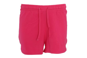 Indigo Roc Womens/Ladies Jersey Shorts (PINK)