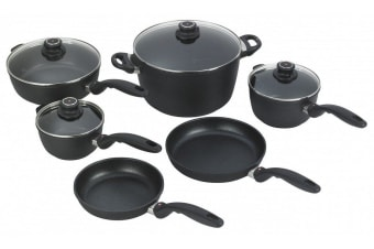 Swiss Diamond XD Classic Cookware Set 10pc