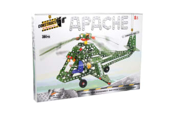 Construct It Kit Apache Helicopter