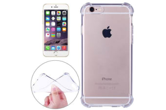 For iPhone 6S 6 Case Completely Transparent Durable Grippy Shielding Cover