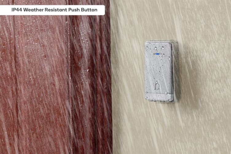 Kogan Battery-Free Wireless Digital Doorbell