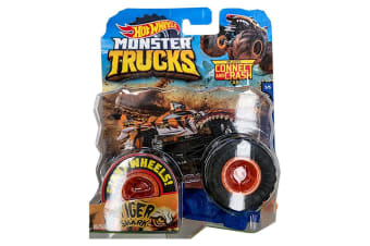 Hot Wheels Monster Trucks 1:64 - Tiger Shark