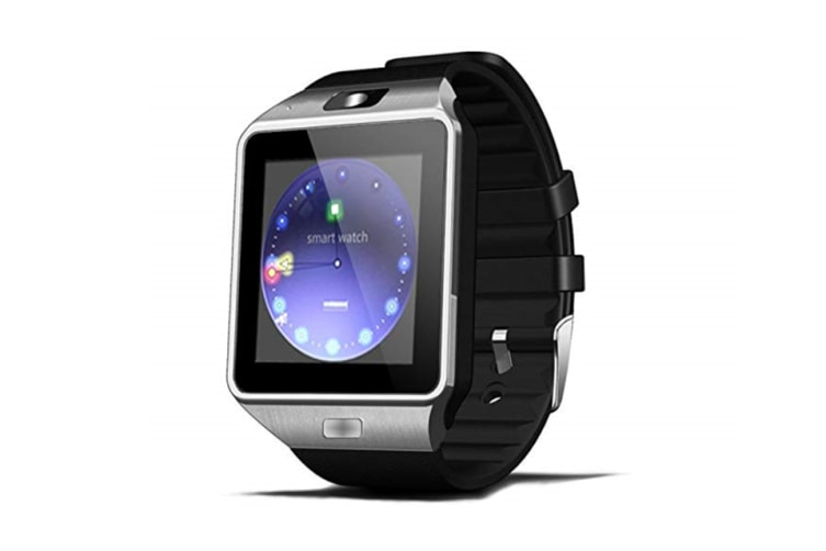 Boys And Girls Bluetooth Sports Watch,Smart Phone Watch For Children Black