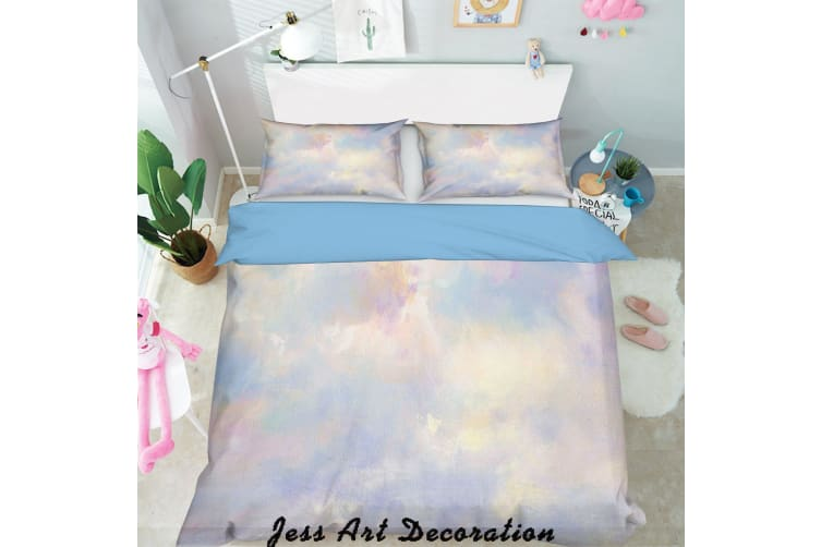 3D Color Abstract Quilt Cover Set Bedding Set Pillowcases  112-King