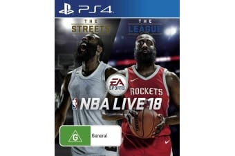 NBA Live 18    AU Version PS4 PlayStation 4 Game - Disc Like New