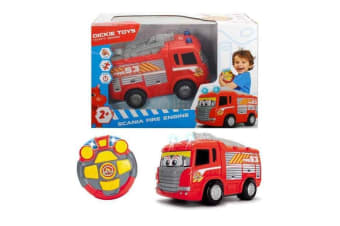 Dickie Toys Scania Lights and Sounds RC Fire Engine