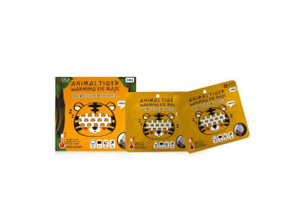 SNP Animal Tiger Warming Eye Mask 5pcs