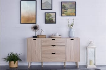Shangri-La Drawer 2 Door Buffet - Nyhavn Collection (Oak)