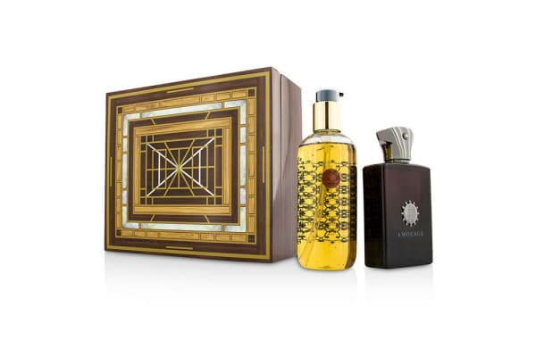 Amouage Lyric Coffret: Eau De Parfum Spray  100ml/3.4oz + Bath & Shower Gel 300ml/10oz (2pcs)