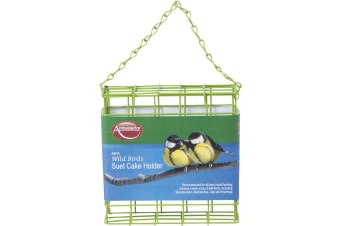 Ambassador Wild Birds Suet Cake Holder (Green)