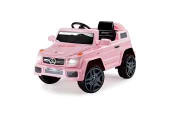 ROVO KIDS Ride-On Car MERCEDES G65 Inspired Electric Toy Battery Remote Pink