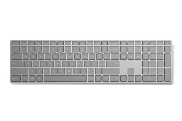 Microsoft Modern Keyboard with Fingerprint ID - Grey (EKZ-00009)