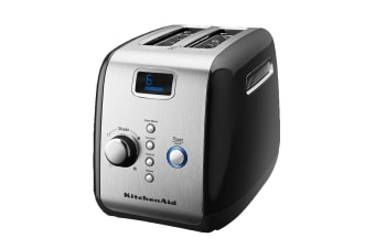 KitchenAid 2 Slice Toaster - Onyx Black (5AKMT223OB)