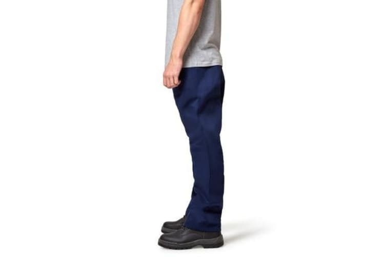Hard Yakka Foundations Drill Pant (Navy, Size 79L)