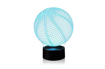 Bedside lamp touch basketball night lamp 3D LED table cCT0644