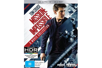 Mission Impossible The 6 Movie Collection 4K Ultra HD Blu-ray UHD Region B