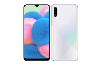 Samsung Galaxy A30s Dual SIM (4GB RAM, 64GB, Prism Crush White)