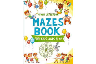 Maze Books for Kids Ages 8-12