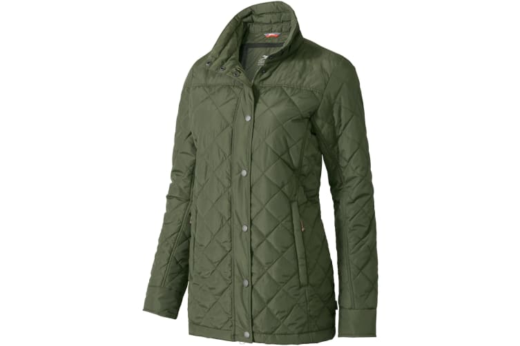 Slazenger Womens/Ladies Stance Insulated Jacket (Army Green) (S)