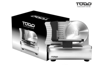 TODO 200W Electric Food Slicer Meat Slices Fruit Vegetables Bread Deli