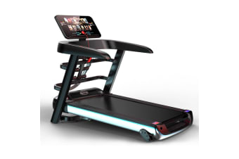 JMQ A6X PLUS Colour Screen Electric Treadmill Wifi Bluetooth Incline Running Gym