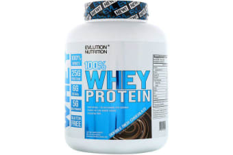 EVLution Nutrition 100% Whey Protein - Double Rich Chocolate, 1.81kg
