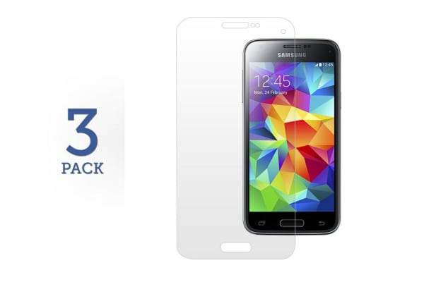 3 Pack Screen Protector for Samsung Galaxy S5 Mini